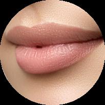 makeup lippe